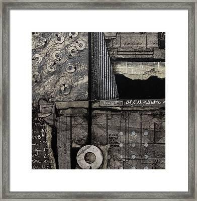 Soffit Framed Print by Laura Lein-Svencner