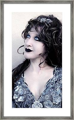 Sofia Metal Queen - Gothic Mood - Hope Framed Print by Sofia Metal Queen