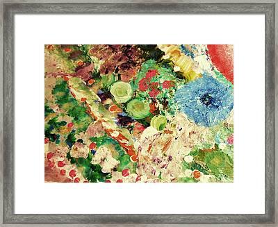 Sofia's Flower's Framed Print by HollyWood Creation By linda zanini