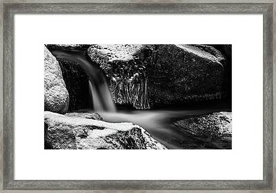 soft and sharp at the Bode, Harz Framed Print