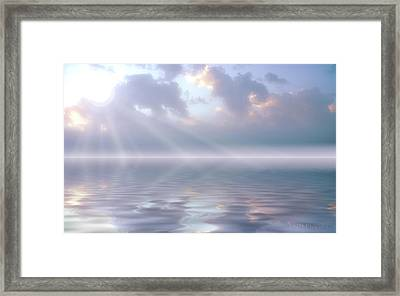 Soft And Sublime Framed Print by Jerry McElroy