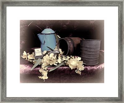 Soft Country Kitchen Framed Print