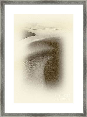 Soft Dunes Framed Print by Paul W Faust - Impressions of Light