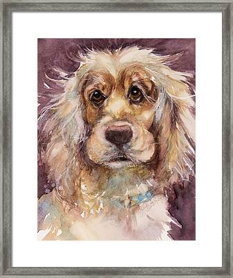 Soft Eyes Framed Print