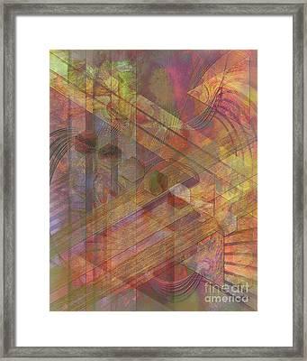 Soft Fantasia Framed Print by John Beck