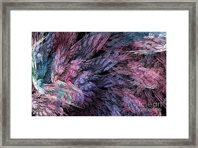 Soft Flutters Framed Print by Elizabeth McTaggart