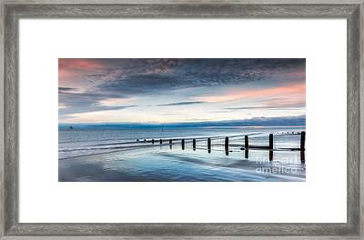 Soft Light Sundown Framed Print