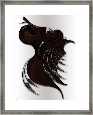 Soft Metamorphosis Framed Print