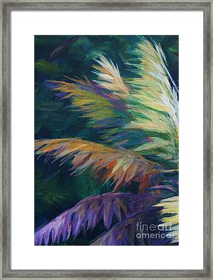 Soft Palm Framed Print by John Clark