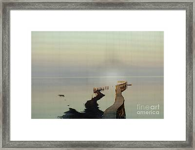 Soft  Walk Framed Print