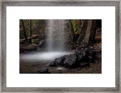 Soft Place To Land Framed Print