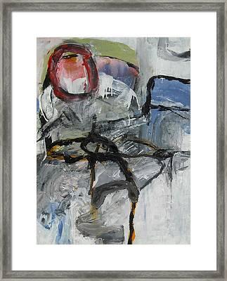 Soft Ruin Framed Print