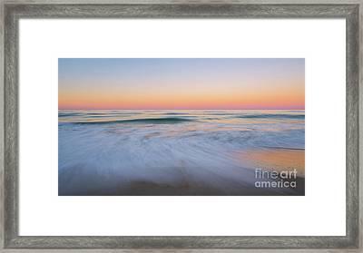 Soft Sunset  Framed Print