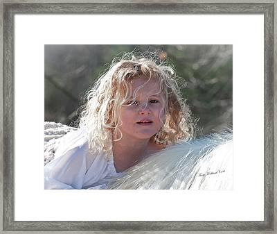 Soft Sweetness Framed Print