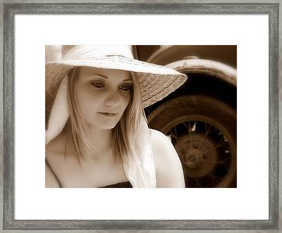 Soft Thoughts Framed Print by James Granberry