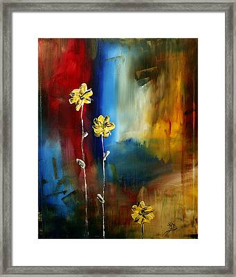 Soft Touch Framed Print by Megan Duncanson