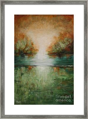 Soft Tumbleweed Framed Print