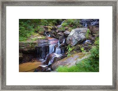 Soft Waters Framed Print