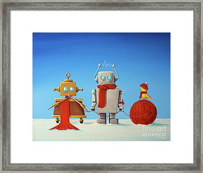 Soft Wear Engineers Framed Print