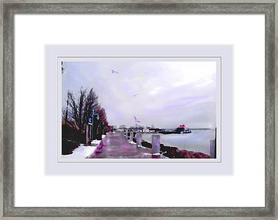 Framed Print featuring the photograph Soft Winter Day by Felipe Adan Lerma
