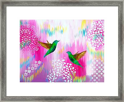 Soft Yet Modern Framed Print by Cathy Jacobs