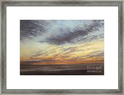 Softly, As I Leave You Framed Print