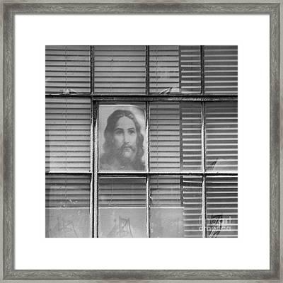 Softly Calling Framed Print