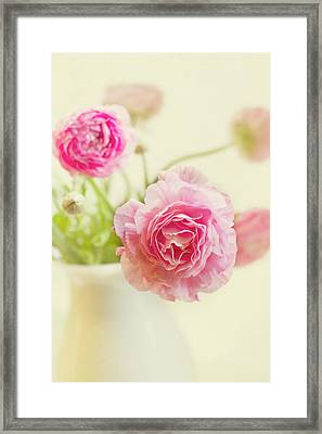Softly Framed Print by Rebecca Cozart