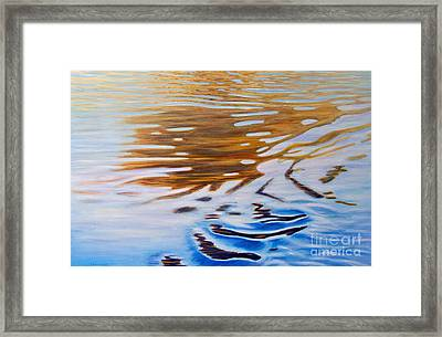 Softly She Sings Framed Print by Brian  Commerford