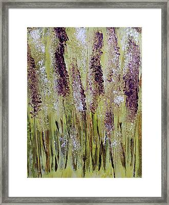 Softly Swaying Framed Print