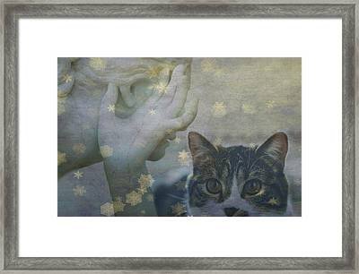 Softly Whispering I Love You  Framed Print