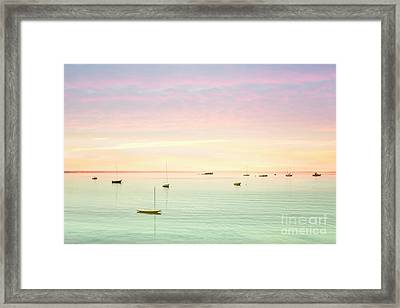 Softness And Light Framed Print