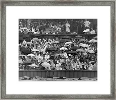 Soggy Supporters Framed Print