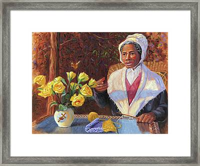 Sojourner Truth Framed Print by Steve Simon