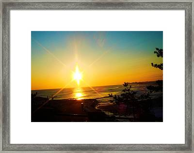 Sokcho 1 Framed Print by Michael C Crane