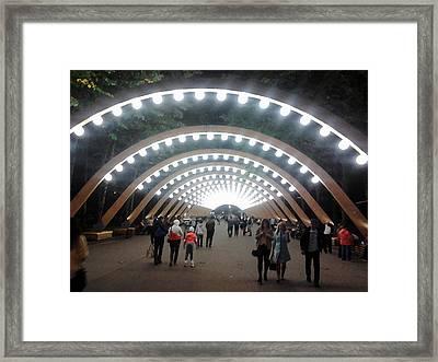 Sokolniki Park Framed Print by Aleksei lomanov Barsuk
