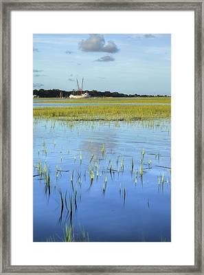 Sol Legare Shrimp Boat Framed Print by Dustin K Ryan