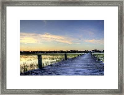 Sol Legare Sunset Framed Print by Dustin K Ryan