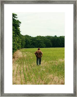 Solace Framed Print by Dawn M Brewer