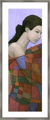 Solace Detail Framed Print by Steve Mitchell