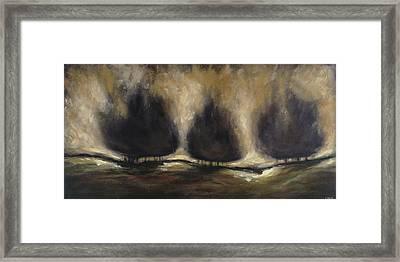 Solace Framed Print by Ellen Lewis