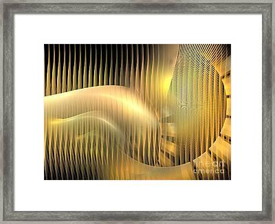 Solar Chaise Framed Print