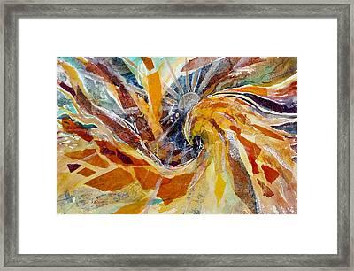 Solar Chakra Meditation Framed Print