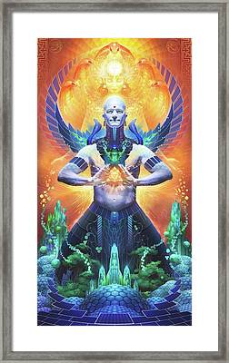 Solar Citadel Framed Print by George Atherton