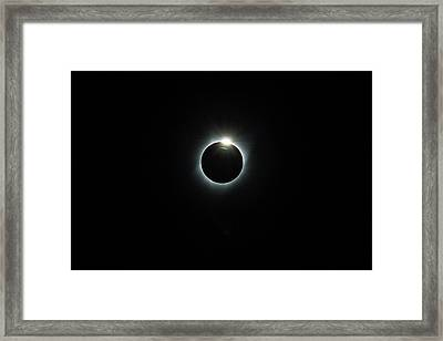 Solar Eclipse 2017 Framed Print by David Gn