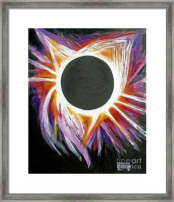 Solar Eclipse Framed Print