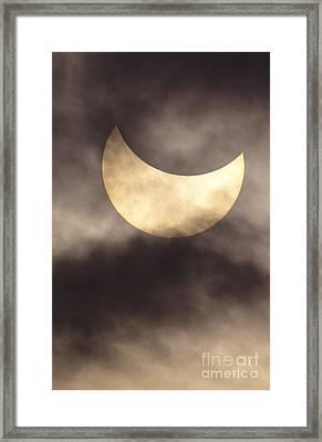Solar Eclipse Framed Print by Reggie David - Printscapes