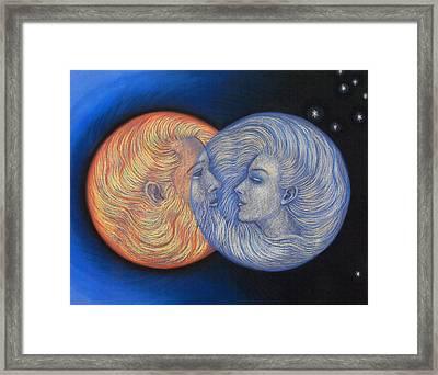 Solar Eclipse Framed Print by Sue Halstenberg
