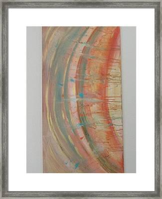 Solar Flare #2 Framed Print by Sharyn Winters