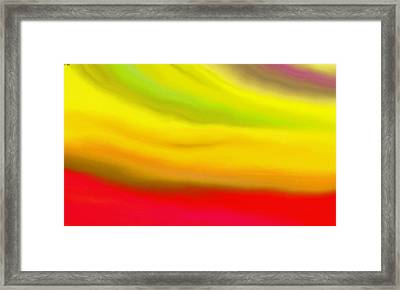Solar Flare Framed Print by Angie Armstrong